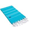 Linum Home Textiles Lucky 100% Turkish Cotton Pestemal/Fouta BeachTowel