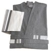 Linum Home Textiles Big and Tall Unisex Super Luxe Pestemal Bathrobe