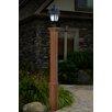"New England Arbors Trinity 74"" Composite Lamp Post"