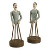 Sterling Industries 2 Piece Parisian Statue Set
