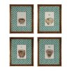 Sterling Industries Nest and Eggs 4 Piece Framed Graphic Art Set