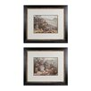 Sterling Industries Campout 2 Piece Framed Graphic Art Set