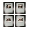 Sterling Industries Mini Estates 4 Piece Framed Graphic Art Set