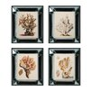 <strong>Sterling Industries</strong> Blue and Gold Coral 4 Piece Framed Graphic Art Set