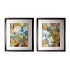 Sterling Industries Circulate Two Piece Framed Graphic Art Set
