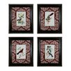 Sterling Industries Cuvier Exotic Birds 4 Piece Framed Graphic Art Set