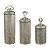 <strong>Sterling Industries</strong> 3 Piece Halten Mercury Decorative Jar Set