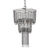 Sterling Industries 1 Light Beaded Mini Chandelier