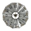 Sterling Industries Aluminum and Rope Wall Clock
