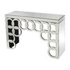 Sterling Industries Rings Mirrored Console