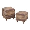 <strong>Sterling Industries</strong> 2 Piece National Storage Ottoman