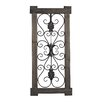 Sterling Industries Hatfield Rectangular Scroll Work Wall Décor