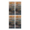 Sterling Industries Abstract 4 Piece Painting Print Plaque Set