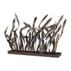 <strong>Sterling Industries</strong> Hayfield Metal Reposed Grass Statuary