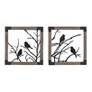 <strong>Sterling Industries</strong> 2 Piece Ollerton Birds on a Branch Wall Décor Set