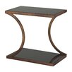 Sterling Industries Misterton Rectangle Side Table with Curved Legs