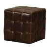 Sterling Industries Leather Ottoman