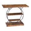 Sterling Industries Wood and Metal Console