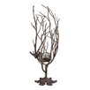 <strong>Sterling Industries</strong> Birds Nest Metal Candle Holder