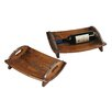 <strong>Moms Vineyard Tray (Set of 2)</strong> by Sterling Industries