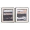 Sterling Industries Glide 2 Piece Framed Graphic Art Set