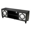 Sterling Industries Mirage Media Console with Convex Mirror
