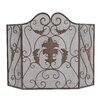 <strong>Sterling Industries</strong> Iron Scroll Work Firescreen