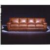 <strong>Omnia Furniture</strong> Prescott Leather Sofa