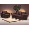 <strong>Omnia Furniture</strong> Scottsdale 3 Seat Leather Living Room Set