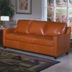 <strong>Omnia Furniture</strong> Chelsea Deco Leather Sleeper Sofa