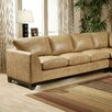 <strong>City Sleek Leather Sofa</strong> by Omnia Furniture