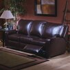 <strong>Mirage Leather Reclining Sofa</strong> by Omnia Furniture