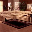 <strong>Omnia Furniture</strong> Riviera Leather Reclining Sectional