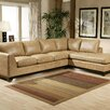 <strong>City Sleek Leather Sectional</strong> by Omnia Furniture