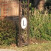 Special Lite Products Monogram Mailbox Post
