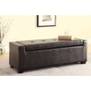 Hokku Designs Perling Upholstered Storage Entryway Bench