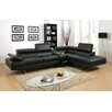 Hokku Designs Derrikke Sleek Sectional