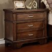 Hokku Designs Mortellia 3 Drawer Nightstand