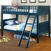 Hokku Designs Oceania Twin Over Twin Bunk Bed with Ladder