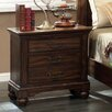 Hokku Designs Cheyenne 3 Drawer Nightstand