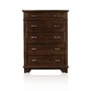 Hokku Designs Mortellia 5 Drawer Chest