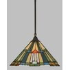 Toltec Lighting 1 Light Mini Pendant