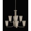 <strong>Toltec Lighting</strong> Apollo 8 Light Chandelier With Hang Straight Swivel