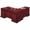 DMI Office Furniture Del Mar L-Shape Executive Desk with Right Return