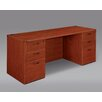 DMI Office Furniture Fairplex Kneehole Executive Desk