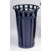 Witt Stadium Series SMB Round 24 Gallon Receptacle with Flat Top Lid