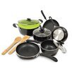 <strong>Ecolution</strong> Heavy Weight 12-Piece Cookware Set