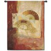 Fine Art Tapestries Abstract Fan Abstract by Fabrice DeVilleneuve Tapestry