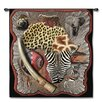 Fine Art Tapestries Abstract Africa by Acorn Studios Tapestry