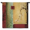 Fine Art Tapestries Abstract Spring Chorus by Don Li-Leger Tapestry